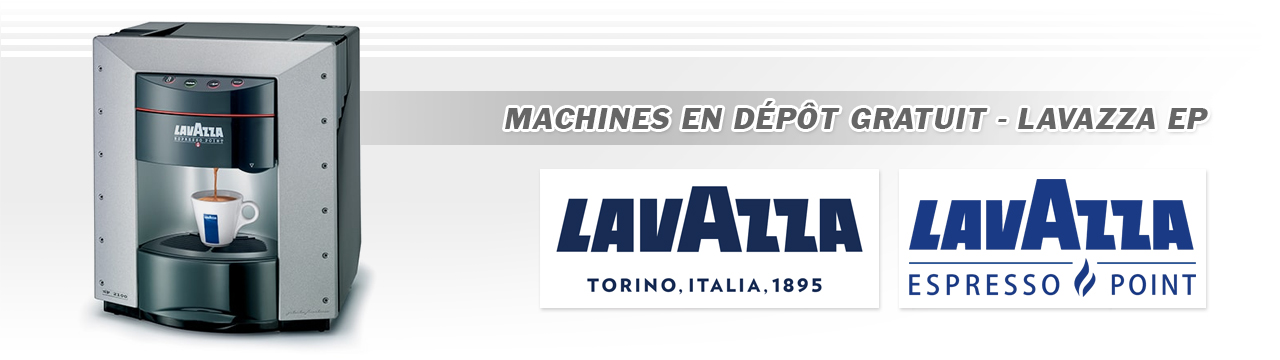 Lavazza Espresso Point - Location Machine à Café