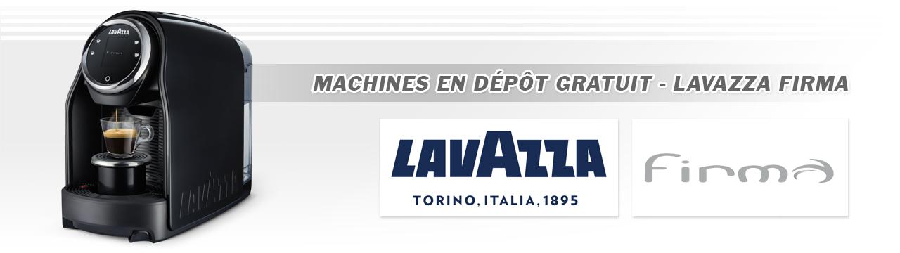 Machines à café Lavazza Firma