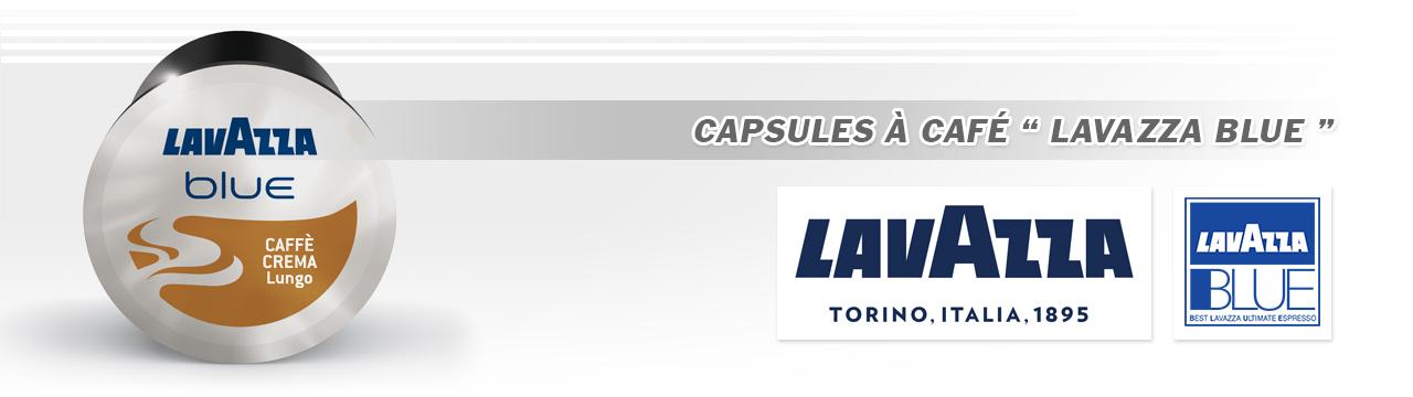 Capsules Café Lavazza Blue