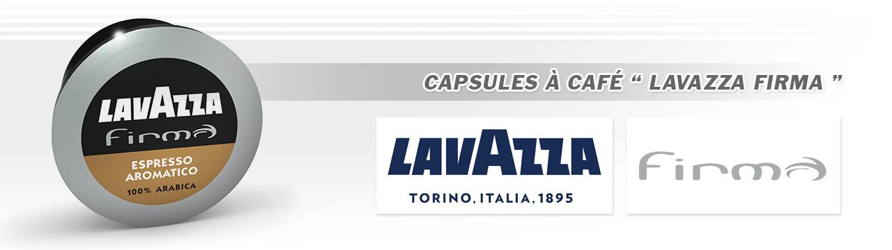 Capsules Lavazza Firma
